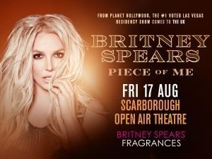 Britney Spears at Scarborough Open Air Theatre