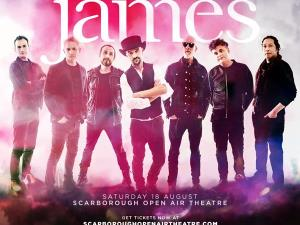 James at Scarborough Open Air Theatre