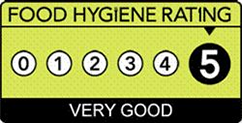 Food hygiene Rating 5 - Very Good